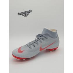 SUPERFLY 6 ACADEMY FG/MG Wolf Grey/Lt Crimson
