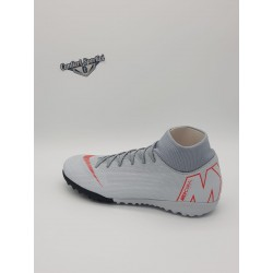 SUPERFLYX 6 ACADEMY TF Wolg Grey/Lt Crimson