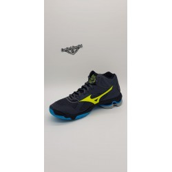 WAVE BOLT 7 MID OMBRE BLUE/SAFETY YELLOW