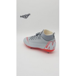 JR SUPERFLY 6 ACADEMY GS Wolf Grey/Lt Crimson