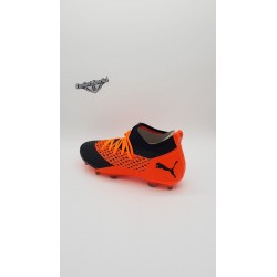 FUTURE 2.2 NETFIT FG/AG BLACK-ORANGE