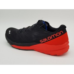 S/LAB SENSE ULTRA BLACK/RACING RED/WHITE