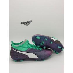 PUMA ONE 3 IL LTH FG Shift-Green-White-Black
