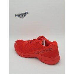 S/LAB SONIC 2 Racing Red/Molten Lava/White