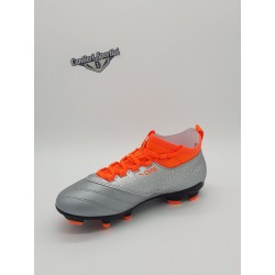 PUMA ONE 3 LTH FG JR Puma Silver-Orange-Black