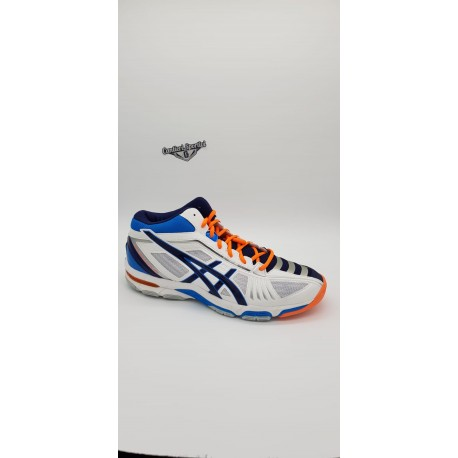 GEL VOLLEY ELITE 2 MT WHITE/NAVY/DIVA BLUE