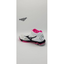 WAVE BOLT 7 MID WOS WHITE/BLACK/PINKGIO