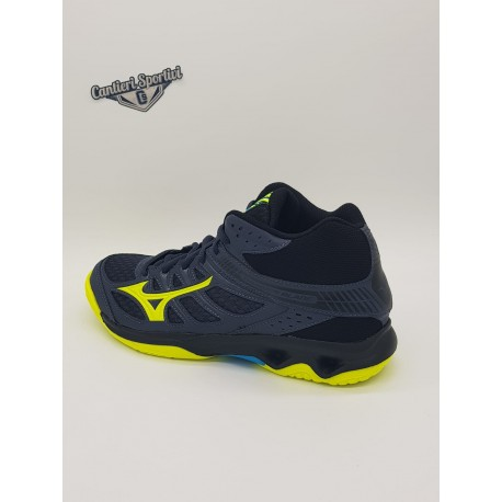 THUNDER BLADE MID OMBREBLUE/SAFETY YELLOW
