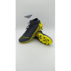 SUPERFLY 6 ACADEMY FG/MG  Dark Grey/Dark Grey/Nero