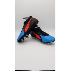 PUMA ONE 19.3 SG Bleu Azur-Red Blast-Black
