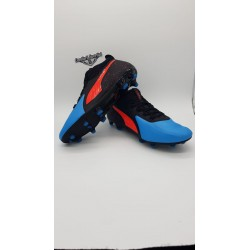PUMA ONE 19.2 FG/AG Bleu Azur-Red Blast-Black