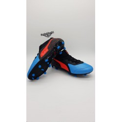 PUMA ONE 19.3 FG/AG  Bleu Azur-Red Blast-Black