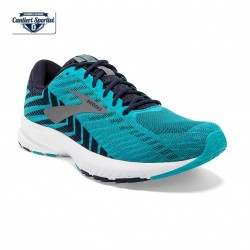BROOKS LAUNCH 6 Bluebird/Peacoat/Shade