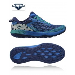 HOKA SPEED INSTINCT Blue/Tropical green
