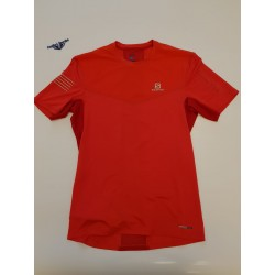 FAST WING SS TEE M FIERY RED