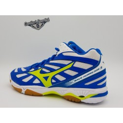 WAVE HURRICANE 3 MID WHITE SAFETY YELLOW DIR.BLU