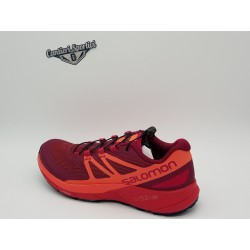 SALOMON SENSE RIDE W SANGRIA/LIVING COR/VIRTUAL