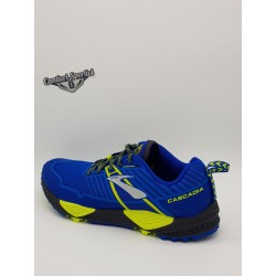 BROOKS CASCADIA 13 BLUE/BLACK/LIME