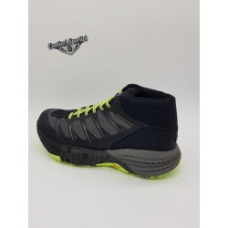 SPEEDGOAT MID WP MEN'S BLACK/STEEL GREY