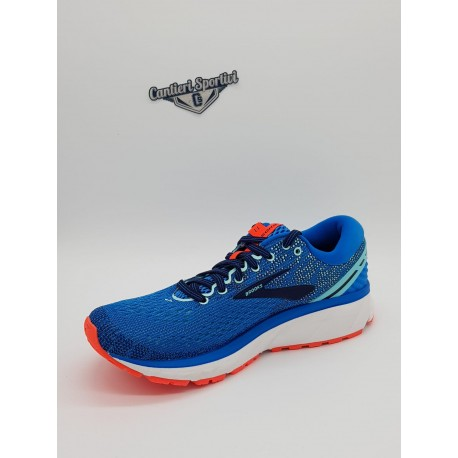 GHOST 11 BLUE/NAVY/CORAL